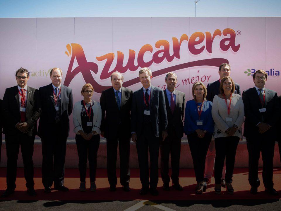 Inauguración de la PEL de Azucarera
